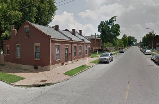 Street on California Avenue where Randall was found dead in her home. - VIA GOOGLE MAPS