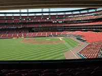 The view from the party porch. - STLOUIS.CARDINALS.MLB.COM