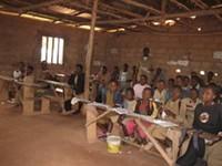 Students at École Catholique of Batié, Cameroon. - WENDY LEE, ROUNDTWOCAMEROON.BLOGSPOT.COM
