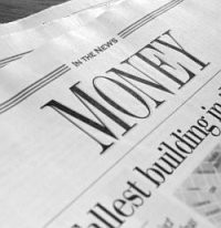 Who's money? The newspaper.