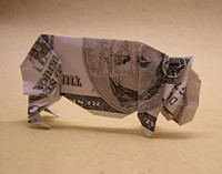 Is it a bull, or a bear? - WWW.FLICKR.COM/PHOTOS/ORIGOMI