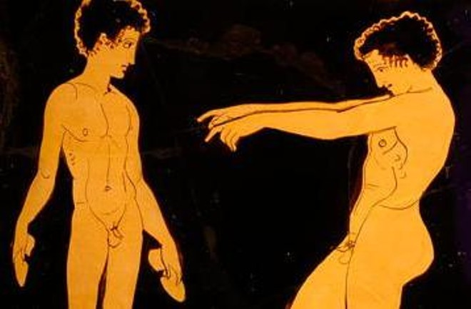 """An early version of the Olympic long jump (a.k.a. """"naked penis pointing"""") would be infinitely more entertaining than the following """"sports."""" - OLYMPIC.ORG"""