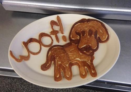 A Dr. Dan Drake pancake creation. - DANIEL DRAKE