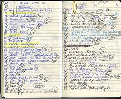 Kathleen's little black book. - IMAGE VIA