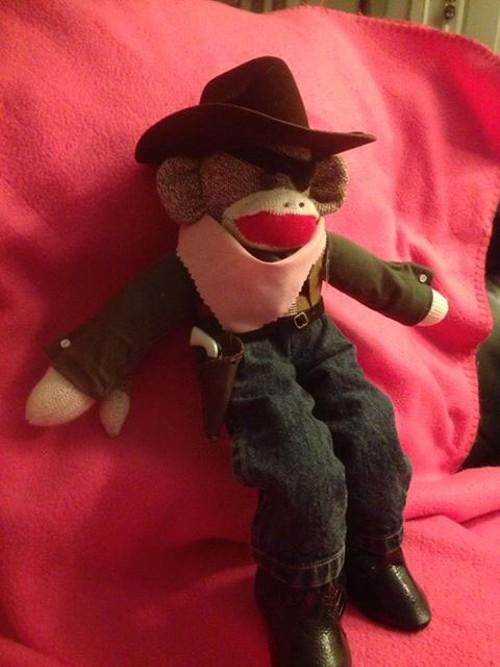 Rooster Monkburn, you bad monkey! - PHYLLIS MAY VIA KING5
