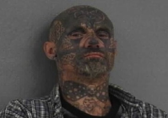 Man With Crazy Face Tattoo Accused of Assault, Tells ...