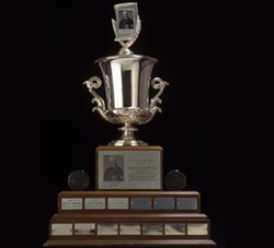 The Jack Adams Award, perhaps headed for St. Louis.