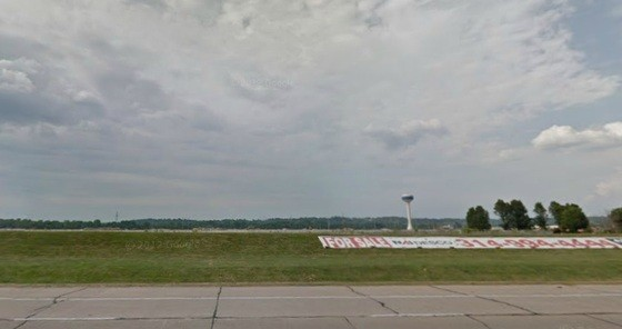The former Chrysler plant as seen from Interstate 44 in Fenton.