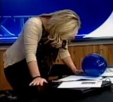 Anchor Ela Soroka loses her sh*t - IMAGE VIA