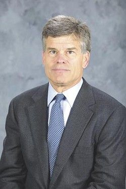 New and hopefully long-term owner of the St. Louis Blues, Tom Stillman.