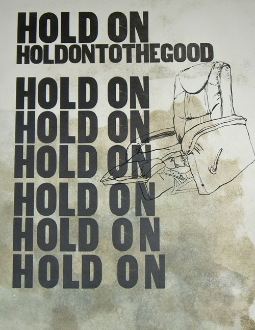 Hold On, from the Cherokee Print League Holiday Sale. - ELYSIA MANN