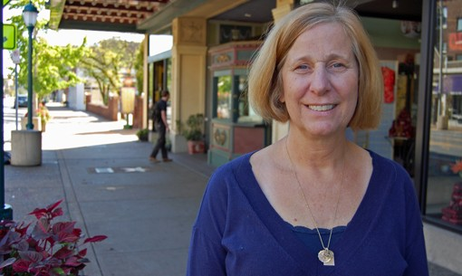 Cindy Sheehan today in St. Louis.