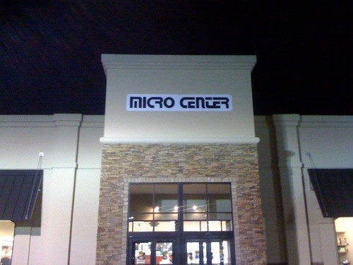 Micro Center occupies the space left by a former furniture store in Brentwood