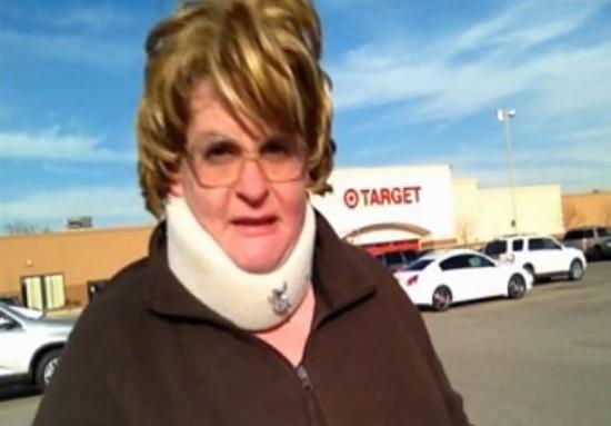 Aunt Claudette Higgins in her Target exposé. - CNN IREPORT