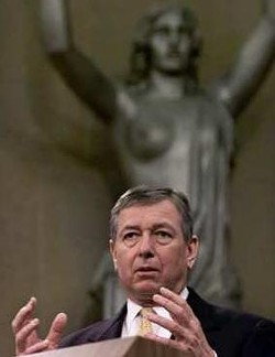 Of all his acts as AG, Ashcroft may be best remembered for his crusade against nude statues.