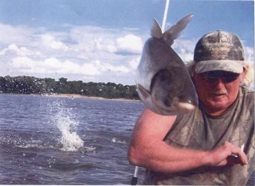 A slimy asian carp, not a slimy Illinois lawmaker. - IMAGE VIA