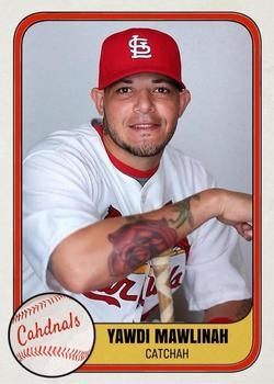 Yadi Molina, translated into Boston English. - CARDS COURTESY OF ROOKIES APP