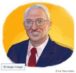 The sketch of Rex Sinquefield now in the Wall Street Journal - IMAGE VIA
