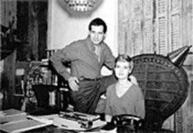 Fran and Jay Landesman in St. Louis in the late 1950s. - COURTESY OF WESTERN HISTORICAL MANUSCRIPT COLLECTION