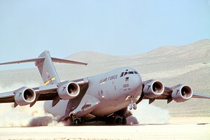 The Boeing C-17 is slated to be retired, but around 1,000 jobs in St. Louis are tied to the project. - PHOTO VIA BOEING
