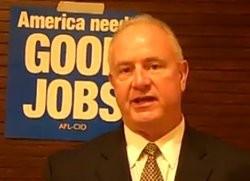 Bob Soutier of the AFL-CIO - VIA