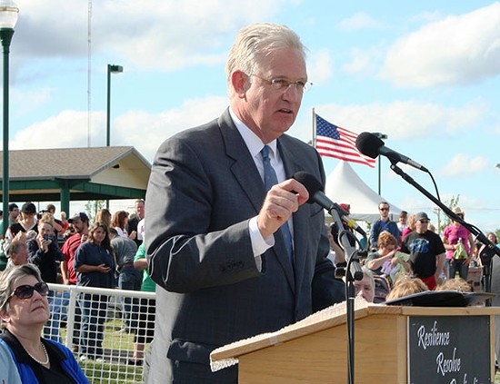 Governor Jay Nixon. - VIA