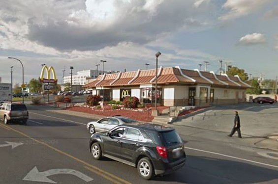 McDonald's at 4979 Natural Bridge Avenue. - GOOGLE MAPS