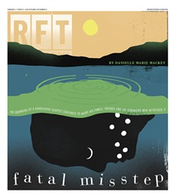 The cover of the February 26, 2015, Riverfront Times. - DANIEL ZENDER