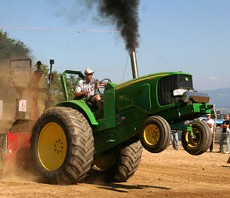 Watch out for that tractor, Homer! - WENDY HOLLANDS LEFRANCOPHONEY.COMWATCH OUT FOR THAT TRACTOR, HOMER!