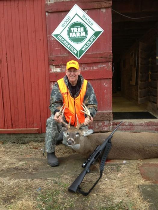 Gov. Jay Nixon harvested an eleven-point buck last weekend. - GOV. NIXON