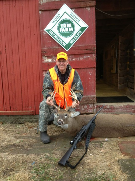 Gov. Jay Nixon harvested an eleven-point buck last weekend. - GOV. NIXON