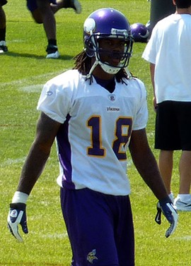 Sigh. It's going to suck watching Sidney Rice play in a Seahawk uniform. - COMMONS.WIKIMEDIA.ORG