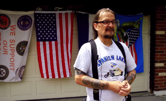 A Spanish Lake resident talks about his hometown in the documentary. - VIA