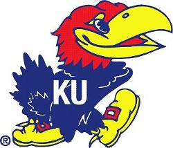 Suspect was naked as a jaybird until he found some Jayhawks garb.