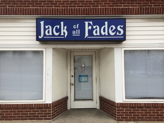 Get your 'do did at Jack of all Fades. - LINDSAY TOLER
