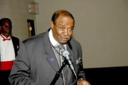 Alderman Samuel Moore of the 4th Ward: No to shrinking the board! - IMAGE VIA