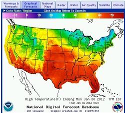 January weather, I am disappoint. - VIA NOAA.GOV