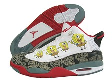A True Fashion Crime: Sponge Bob Air Jordans