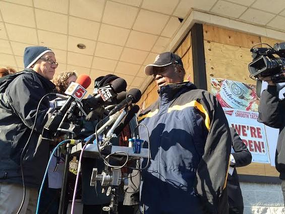 Adeluola Lipede, a doctor at Maranatha Health Care in Ferguson. - LINDSAY TOLER