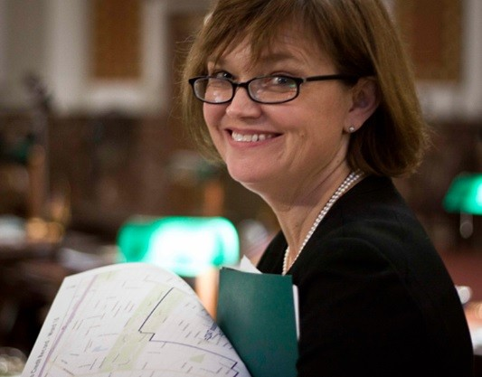 Jennifer Florida, the new Recorder of Deeds for St. Louis. - SARA LEVIN