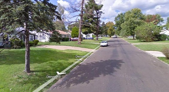 9800 block of Dennis Drive in Dellwood
