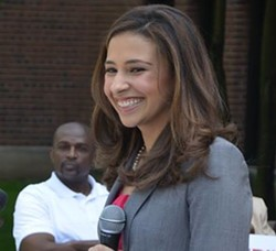 Erika Harold. - VIA FACEBOOK