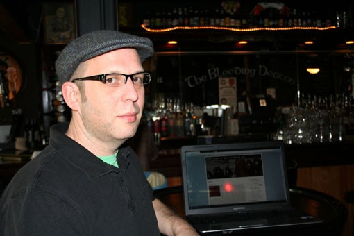 Joe Stumble, the blogger behind Last Days of Man on Earth. - PHOTO: EMILY GOOD