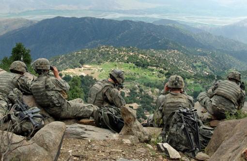 U.S. Army troops in 2006 in Kunar province, Afghanistan. - PHOTO VIA