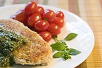 A Match chicken cutlet prepared by Freddie Holland. - JENNIFER SILVERBERG