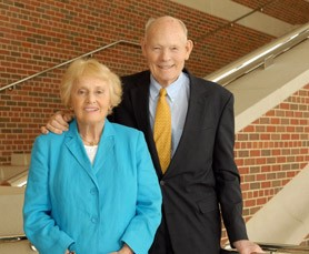 Lee, with wife Mary Ann. - UMSL.EDU