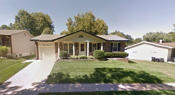 Police say James Roesslein killed his wife Patsy in their living room before shooting himself. - GOOGLE MAPS