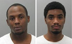 James Wilson and Jamon Spurlock - POLICE HANDOUT