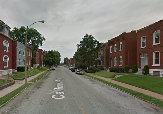 The 3300 block of California Avenue. - GOOGLE MAPS