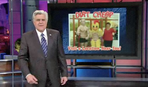 Dirt Cheap on Leno last night.